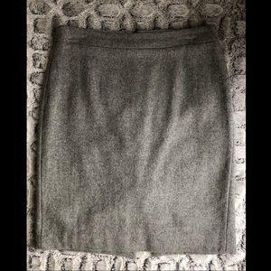 2️⃣ for $25: J Crew Gray Wool Skirt
